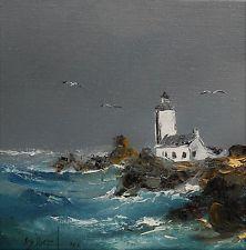 Incroyable peinture+marine+bretagne en vente | Peinture de phare, Peinture de RU-86
