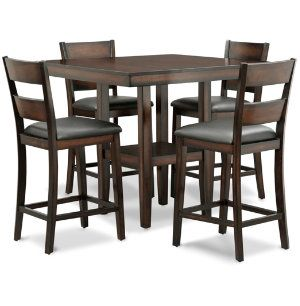 Gathering Table 4 Stools Height Dining Rooms Art Van Furniture The Midwest S 1 Mattress