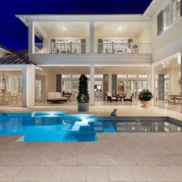 West In s House Design tropical exterior miami Weber Design Group Inc