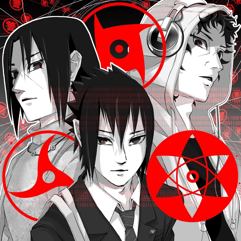 Shisui, Itachi & Sasuke Uchiha
