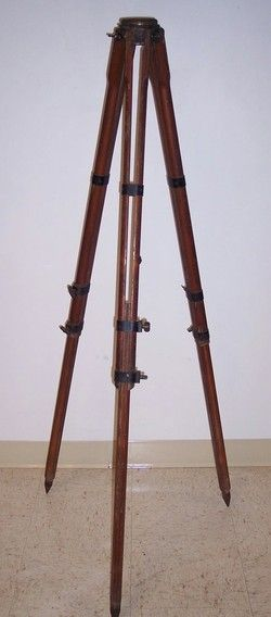 Vintage Surveying Tripod Lamp