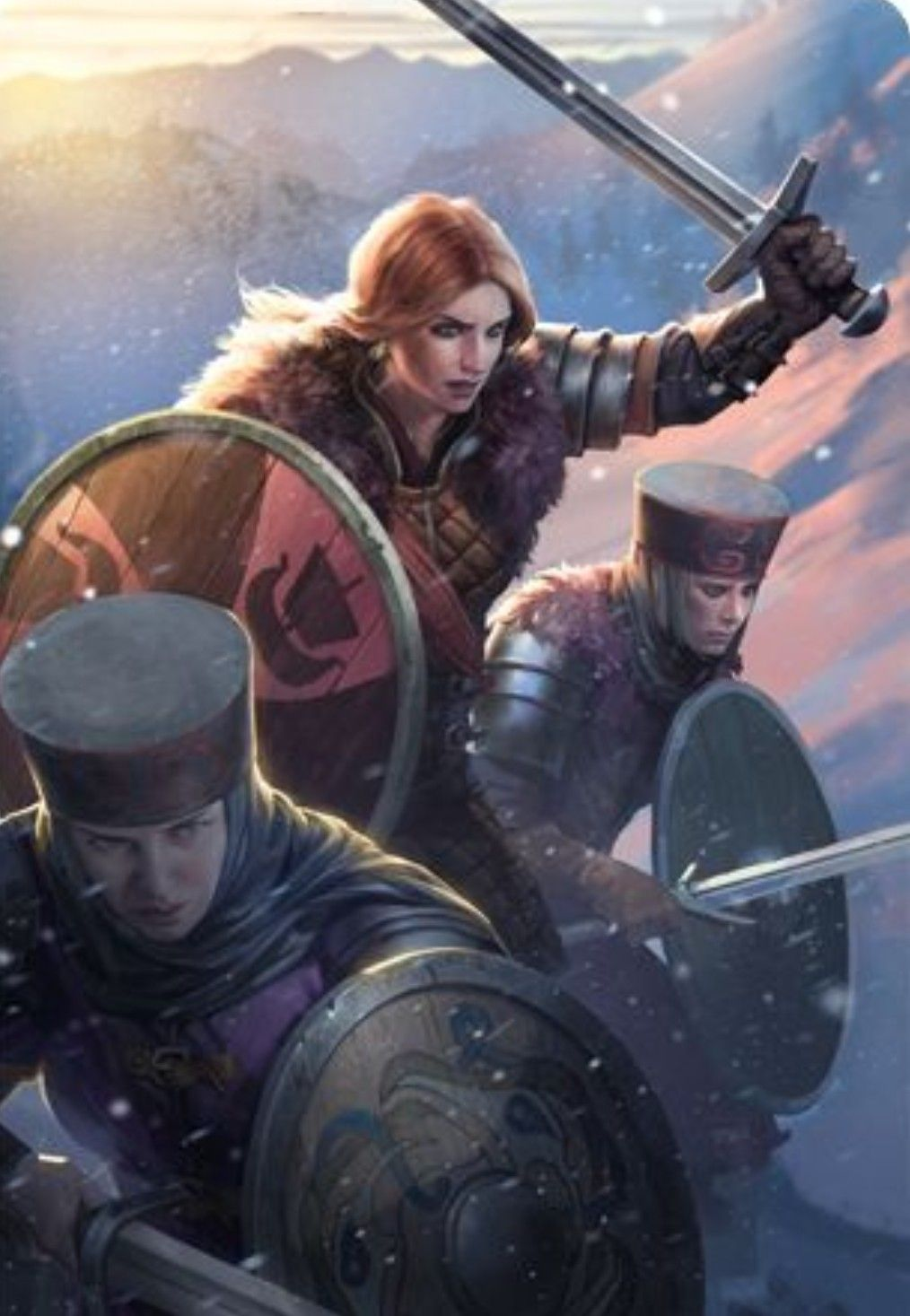 The Witcher Cerys An Craite Gwent Card Skellige Witcher Art Fantasy Illustration The Witcher
