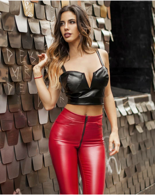 Sexy in leather