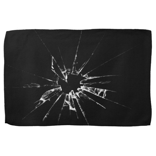 Shattered Glass Hand Towel |  Shattered Glass Hand Towel