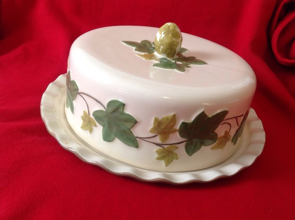 Franciscan Ivy Covered Cake Plate Portugal & Franciscan Ivy Covered Cake Plate Portugal #Franciscan | All Ivy ...
