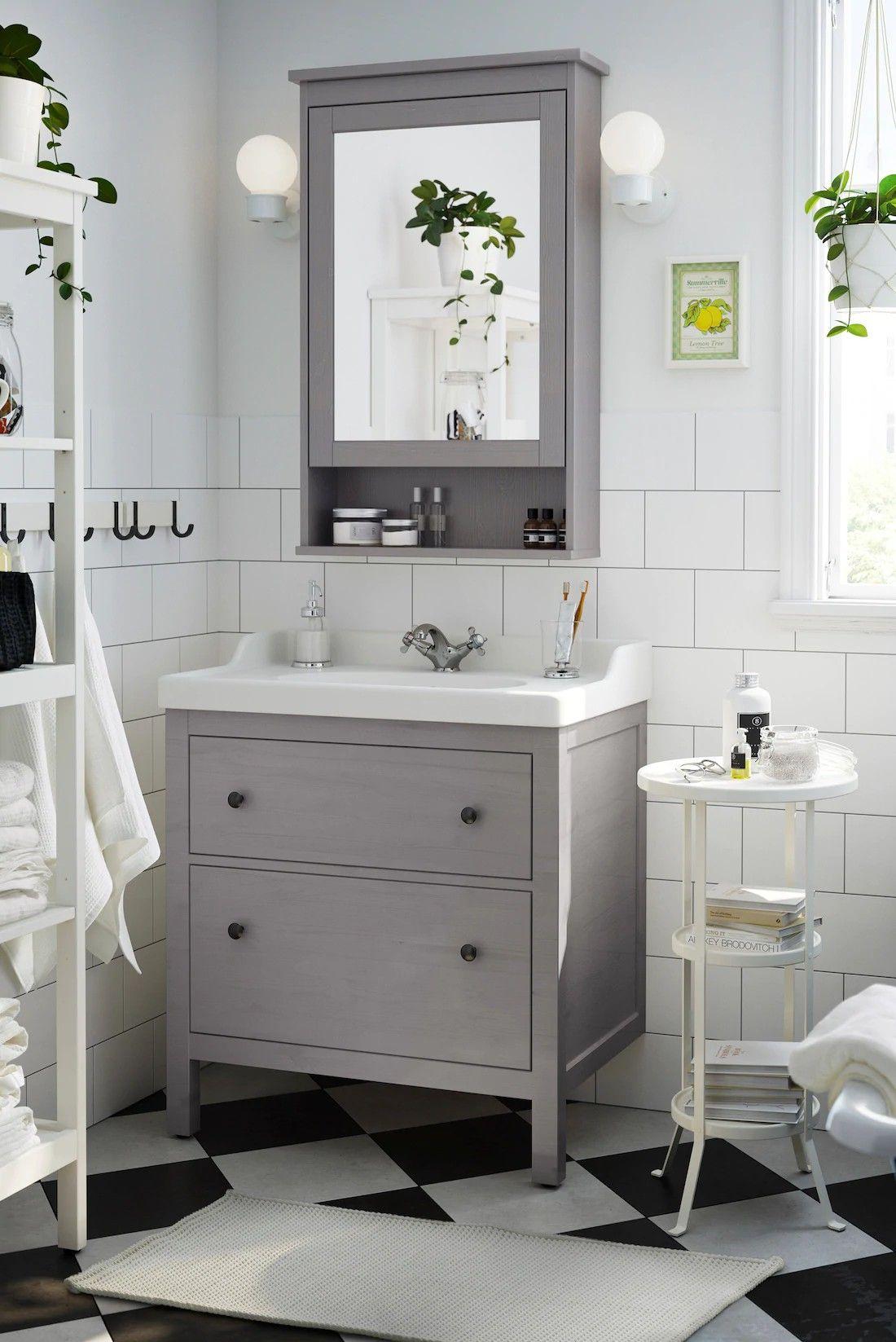 Pin By Ulrike Hippauf On Ideen Fur Die Wohnung Ikea Bathroom Vanity Bathroom Interior Home Decor Hooks