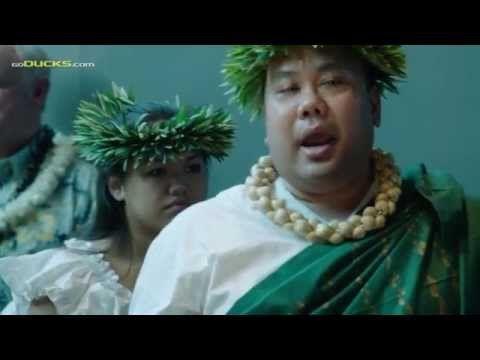 Marcus Mariota Heisman Hawaiian Blessing - YouTube