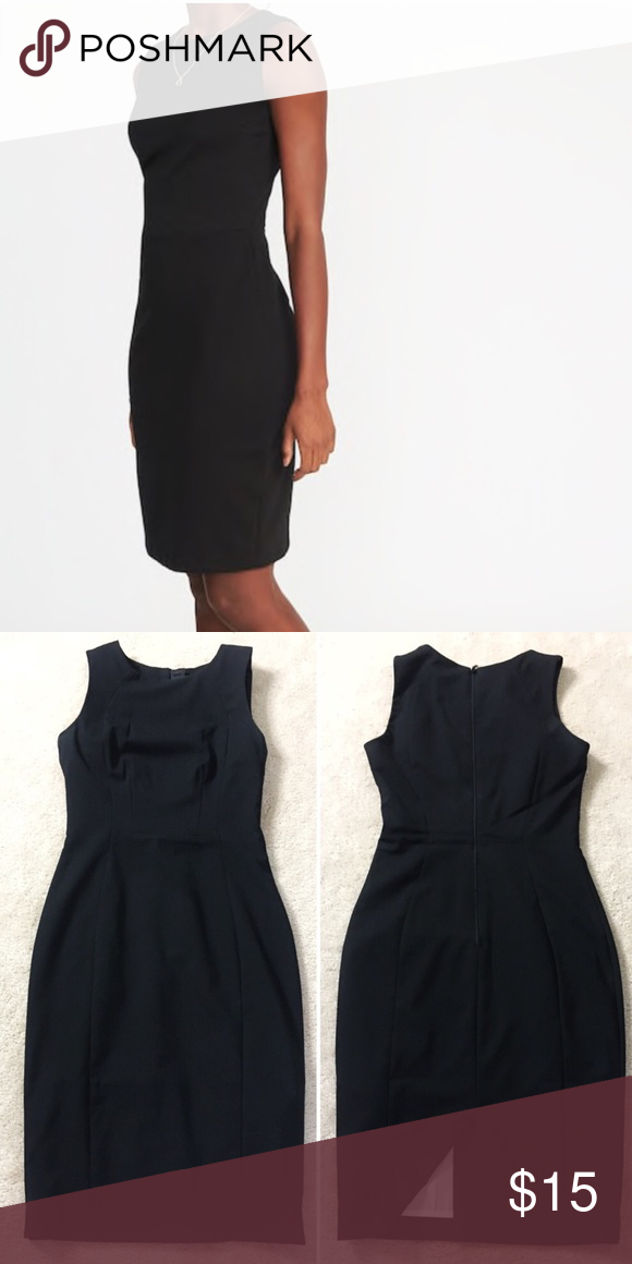 9b6d7ec37e3fb H&M Black Work Dress Great condition, like new! Nice thicker material. Fits  more