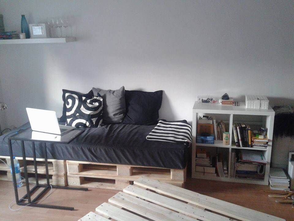 Paletten Sofa   Palettencouch, Sofa aus palletten, Sofa
