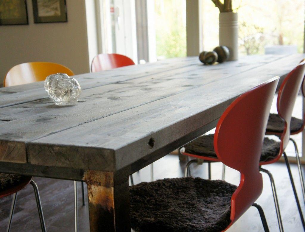 Förslag på eget bord?   Idéer för hemmet   Pinterest   Sök, Google ... : gammalt matbord : Inredning