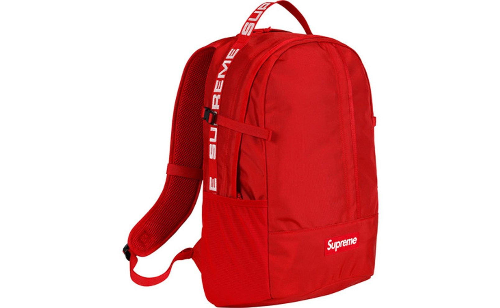 af874940311e Check out the Supreme Backpack (SS18) Red available on StockX ...