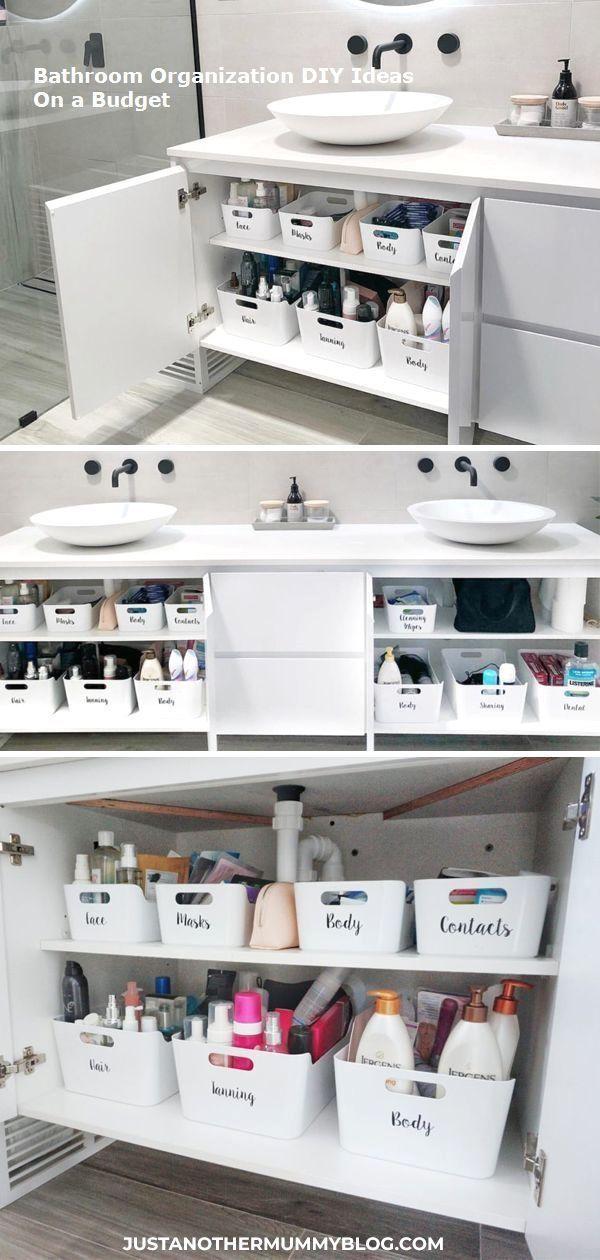 Modernes Bad Mit Holz 27 Ideen Fur Mobel Boden Wand Decke Neueste Dekoration En 2020 Idee Salle De Bain Armoire De Toilette Organisation Maison