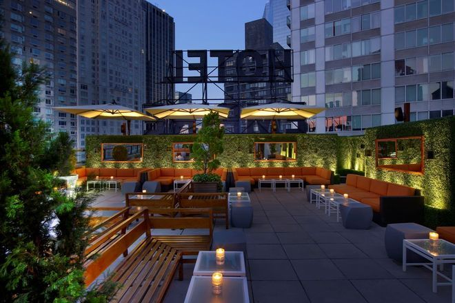 The Empire Hotel Rooftop | Best Spot After Shopping NYC