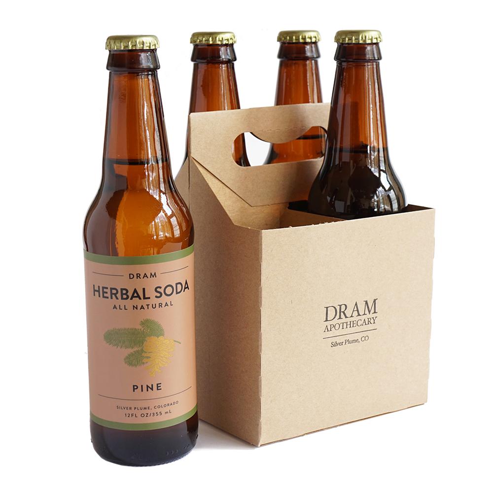 Herbal Pine Soda (4 Pack)