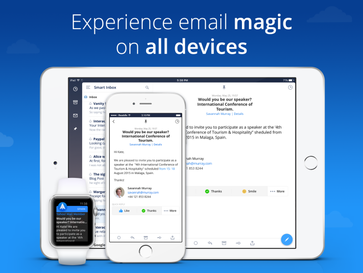 Spark, The Mailbox Alternative, Lands On The iPad Email