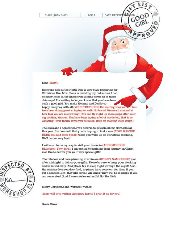 Get this coolest letter from santa ive seen letter from santa coolest letter from santa ive seen letter from santa mailed spiritdancerdesigns Choice Image
