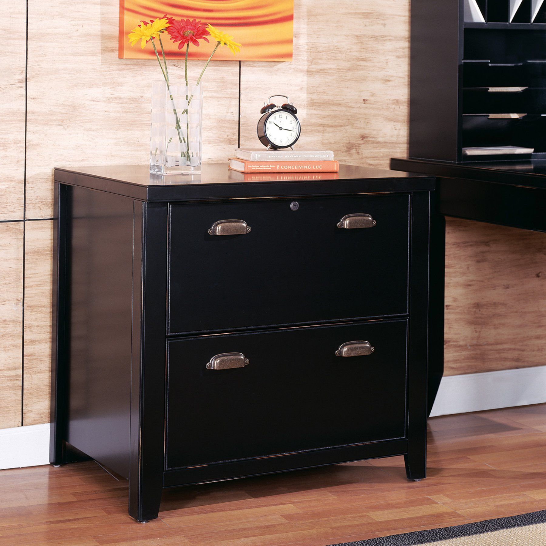Kathy Ireland Home By Martin Tribeca Loft Two Drawer Lateral File Cabinet    TL450