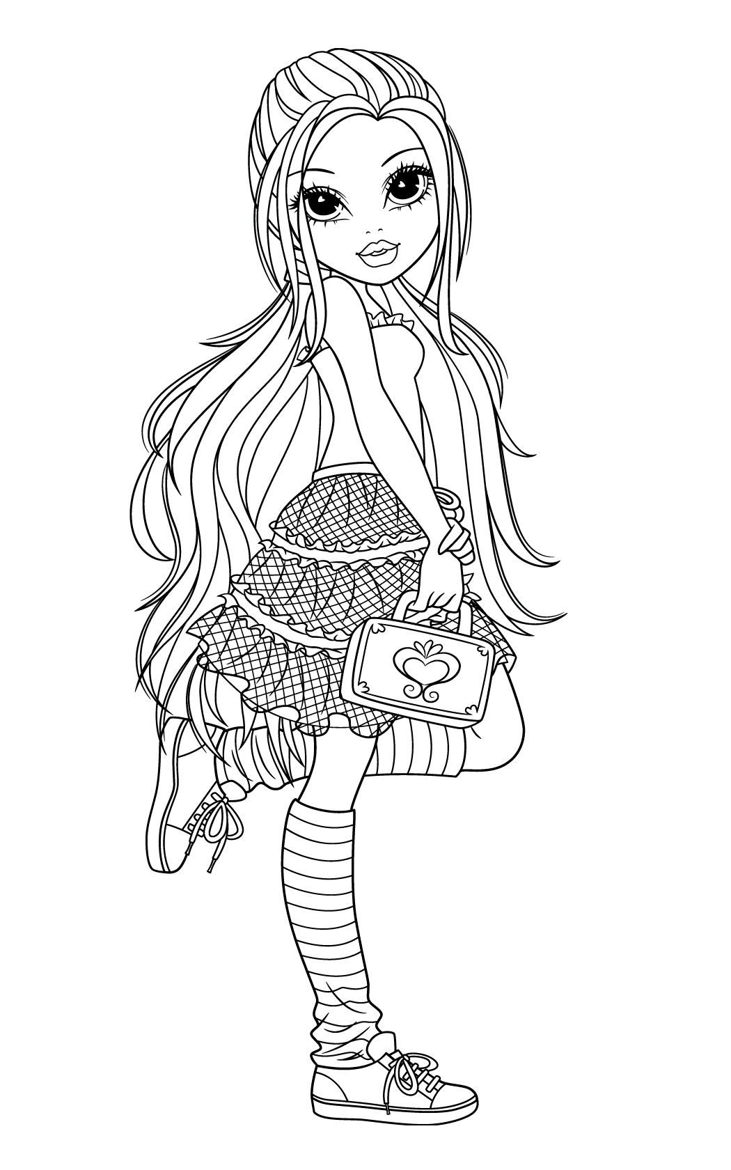 moxiegirlzcoloringpages Coloring pages, Colorful