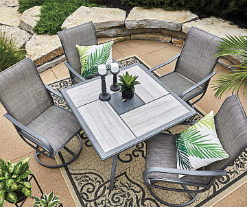 Summer Clearance Discounts On Patio Furniture Gazebos More Big Lots Patio Dining Set Clearance Patio Furniture Outdoor Bistro Set