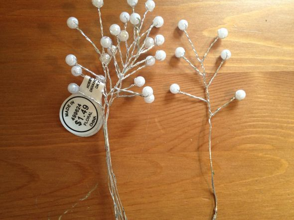 Diy Pearl Baby S Breath Weddingbee Photo Gallery Handmade Flowers Paper Pearls Diy Paper Flowers