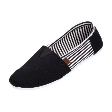 Czarne Tomsy Buty Damskie Wishot 065 Slip On Slip On Sneaker Sneakers Shoes