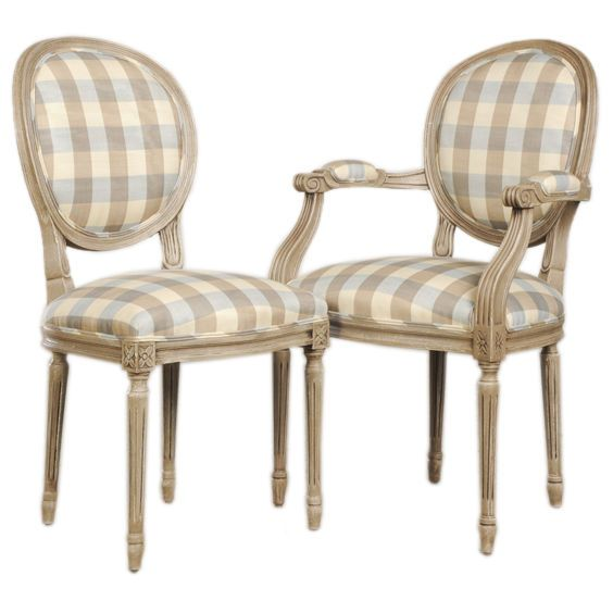 A Set Of Oval Back Louis XVI Style Dining Chairs From France
