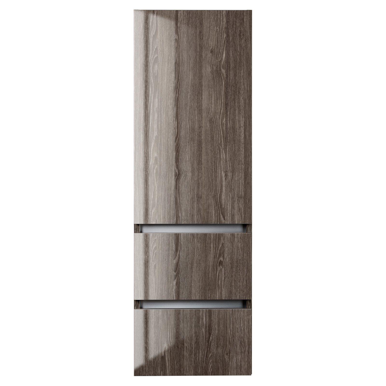 Cutler Kitchen & Bath Sangallo 15 in. Wall Hung Gloss Linen Tower ...