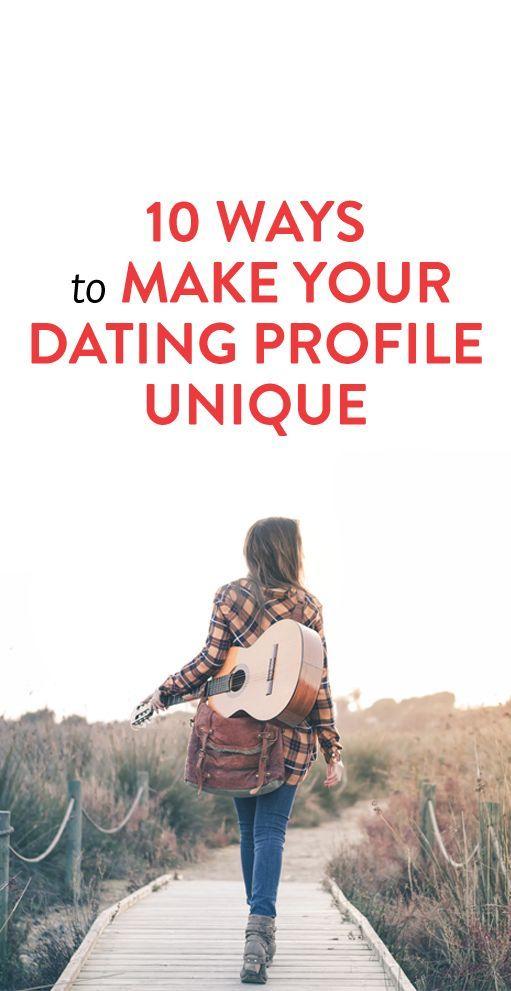 unique online dating tips