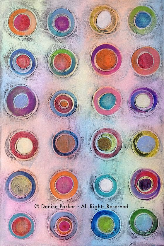 """Original Abstract Art Painting • 24"""" x 36"""" Contemporary Art • CANDY STORE #5 • Original Contemporary Painting • Acrylic Painting"""