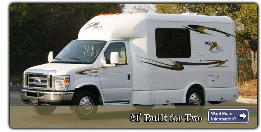 21 Born Free Class C Motorhome With Images Mini Motorhome