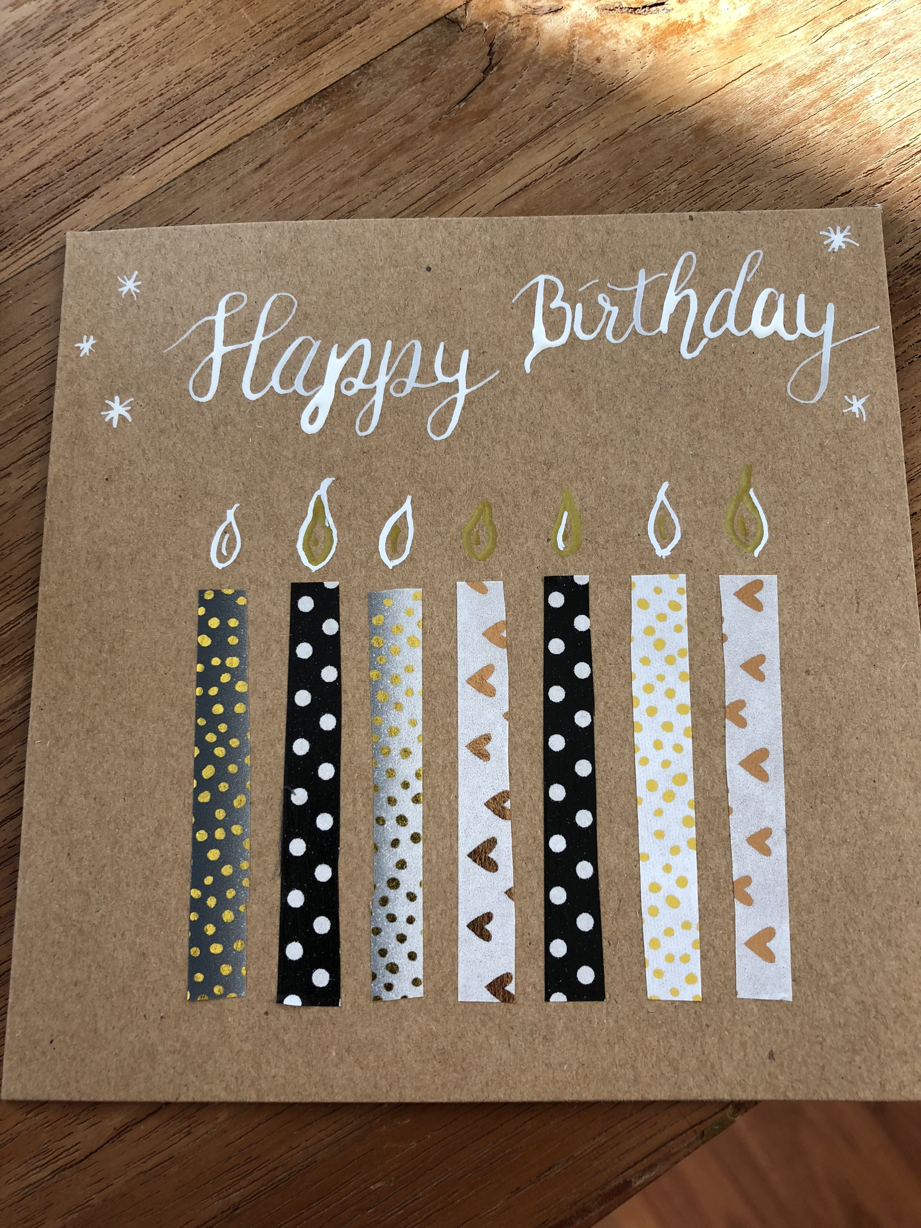 Terrific Absolutely Free Birthday Candles Letters Tips While You Make A Wedding Just What Pops Into Your Head B In 2021 Paper Crafts Cards Gifts Cards Cards Handmade