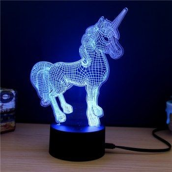 M Sparkling Td261 Creative Animal 3d Led Lamp 3d Led Lamp 3d Led Night Light Led Night Lamp