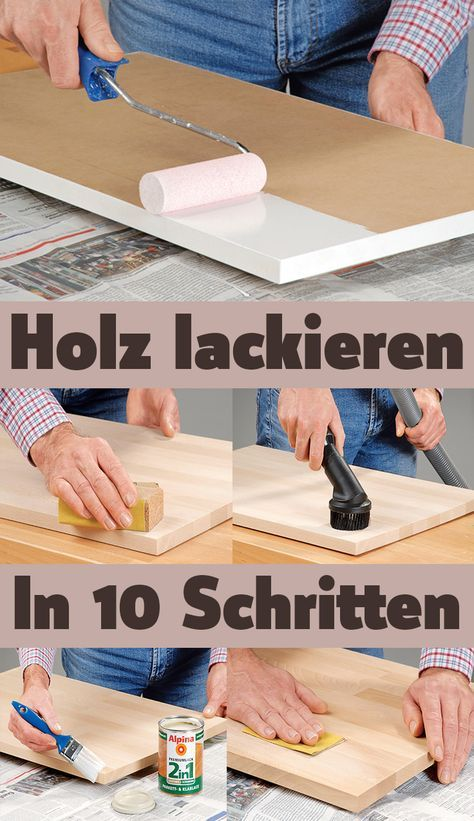Photo of Holz lackieren | selbst.de