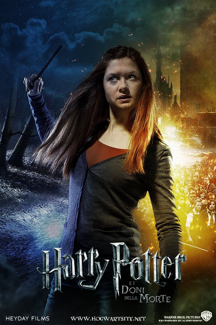 Ginny Weasley Pt 2 1 Deathly Hallows Extended Harry Potter Ginny Ginny Weasley Harry Potter Cosplay