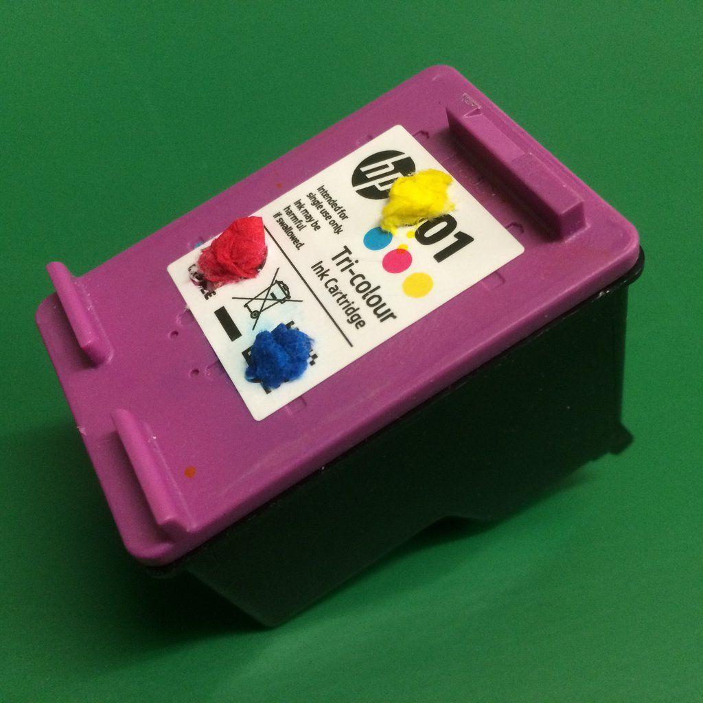 HP302 HP 302 xl Ink Cartridge Refill Instructions