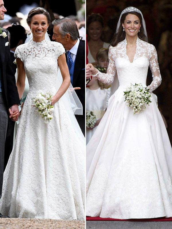 Pippa Middleton Vs. Kate Middleton: Whose Stunning Wedding ...