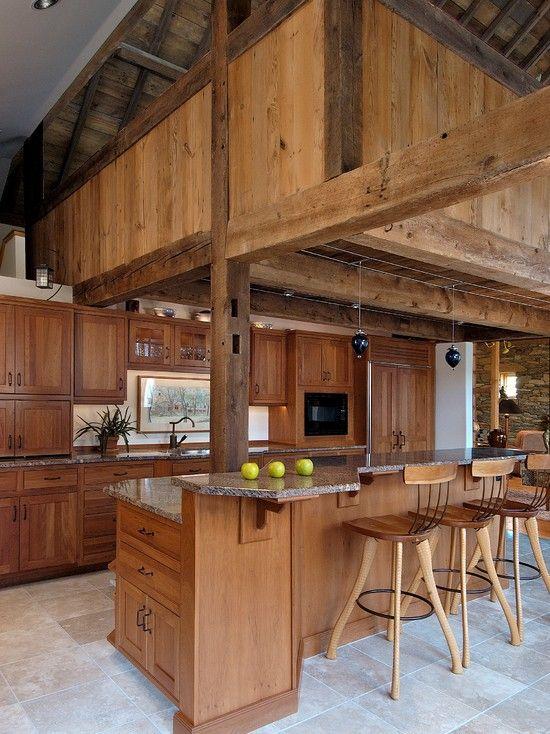 33 Wonderful Kitchens Interiors Designed In Barns Barn, Beautiful