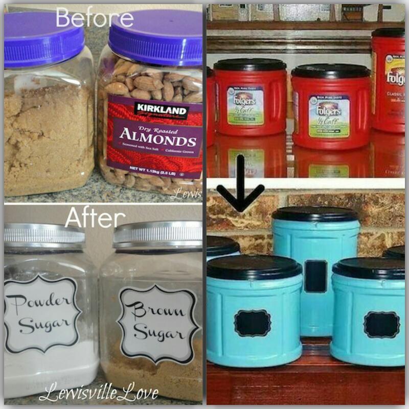 Make Plastic Storage Bins More Attractive By Spray Painting Them Spray Paint Plastic Plastic Storage Bins Painting Plastic