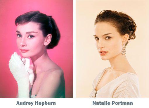 Audrey Hepburn Feminine Face Audrey
