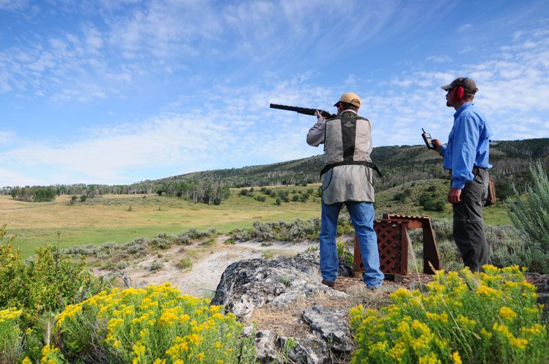 Elk Ridge Sporting Clays at Three Forks Ranch. Near