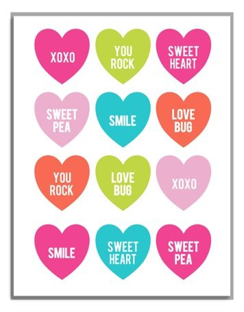 photo about Printable Valentine titled Cost-free Printable Valentine Playing cards - Employ 4 Alternate Practices