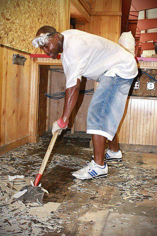 How To Lay Self Stick Vinyl Tile Flooring Floors Pinterest