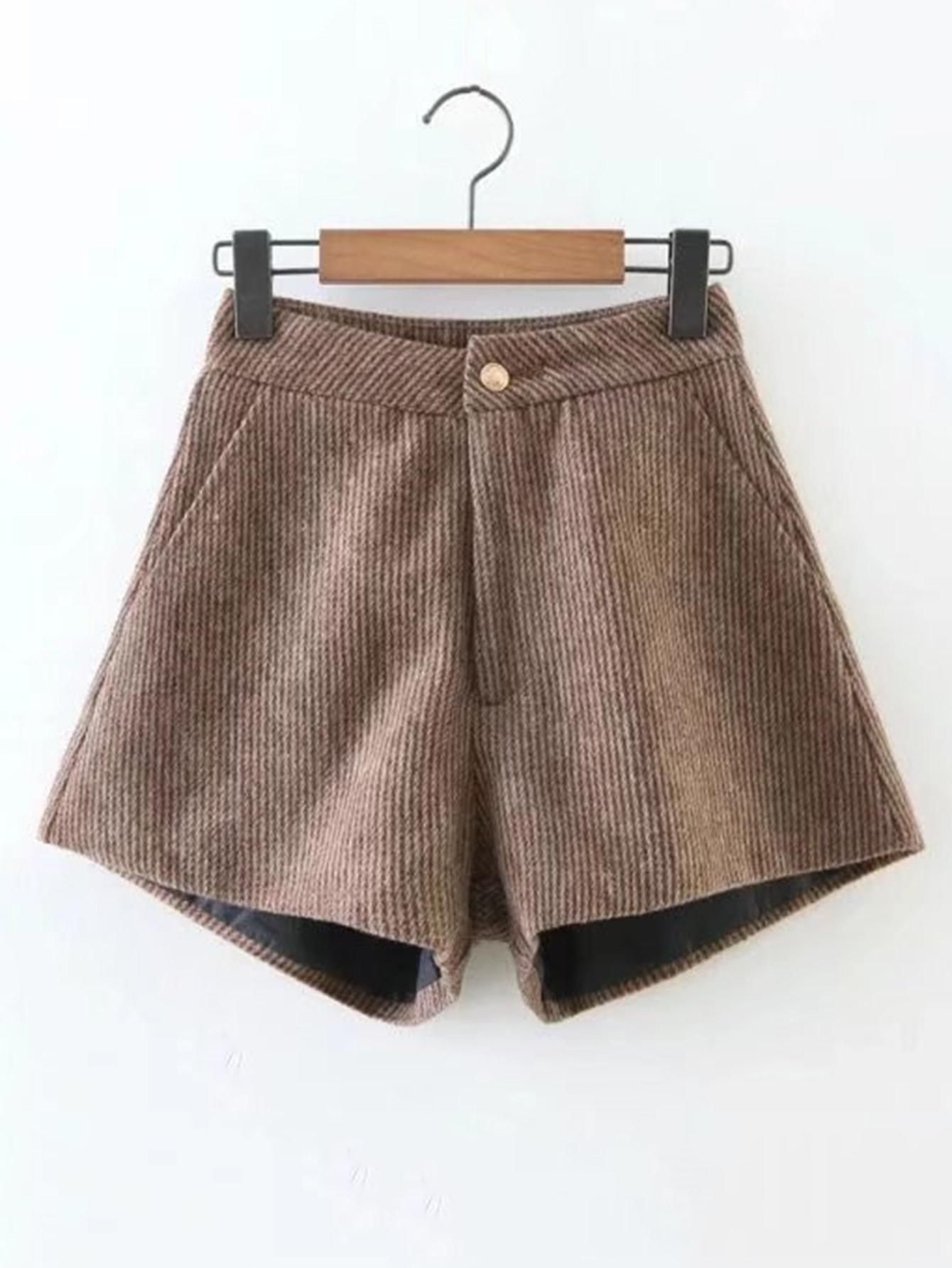 a2cafbe5a3 SheIn SheIn Contrast Fishnet Raw Hem Denim Skirt AdoreWe