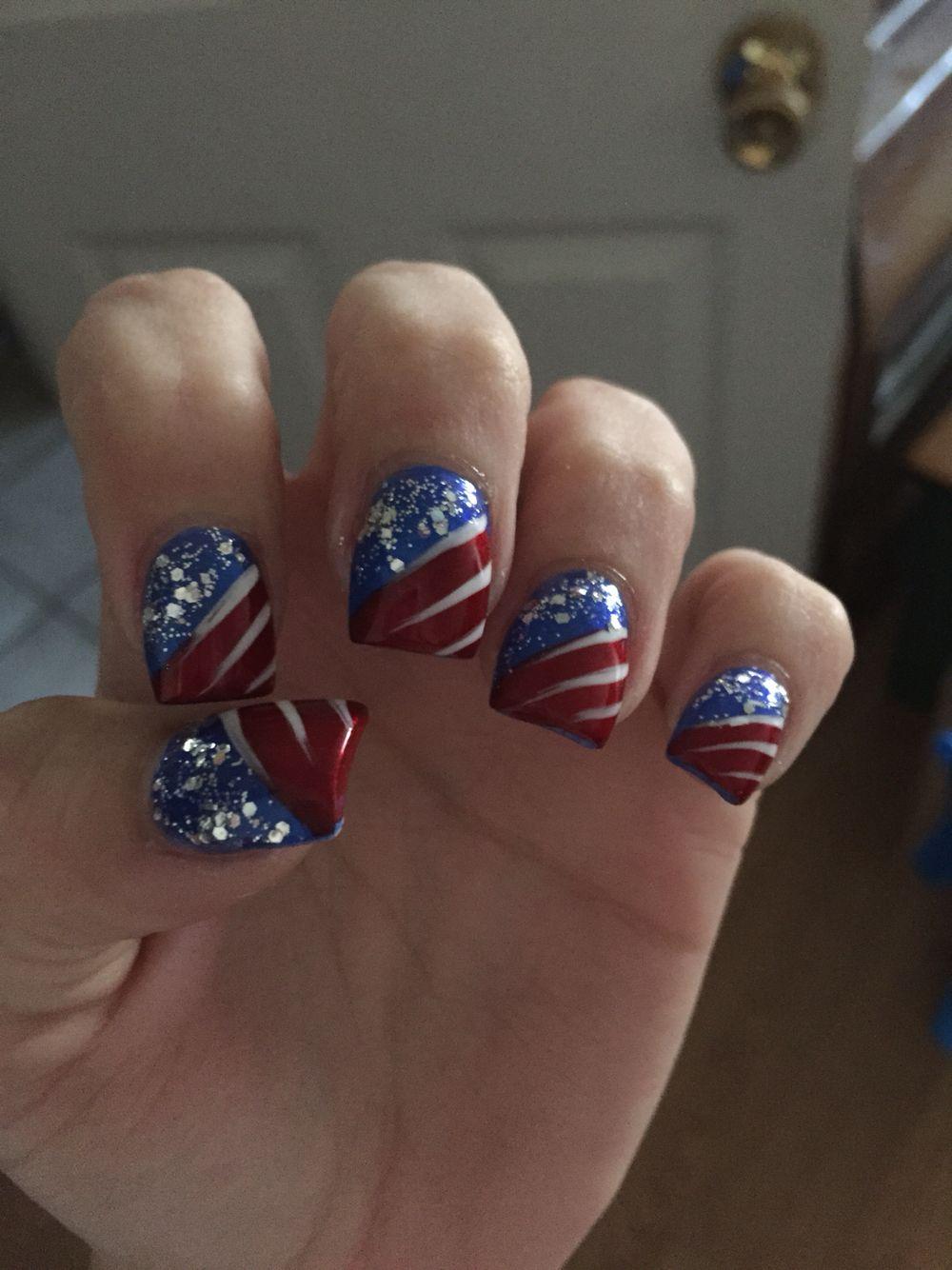 Memorial day nails | Nail art | Pinterest