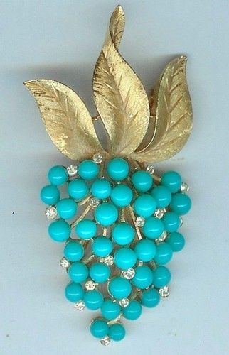 gold and turquoise
