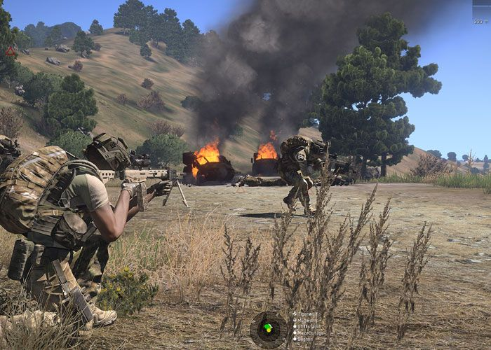 From Infantry Combat To Combined Arms: The ARMA 3 Community