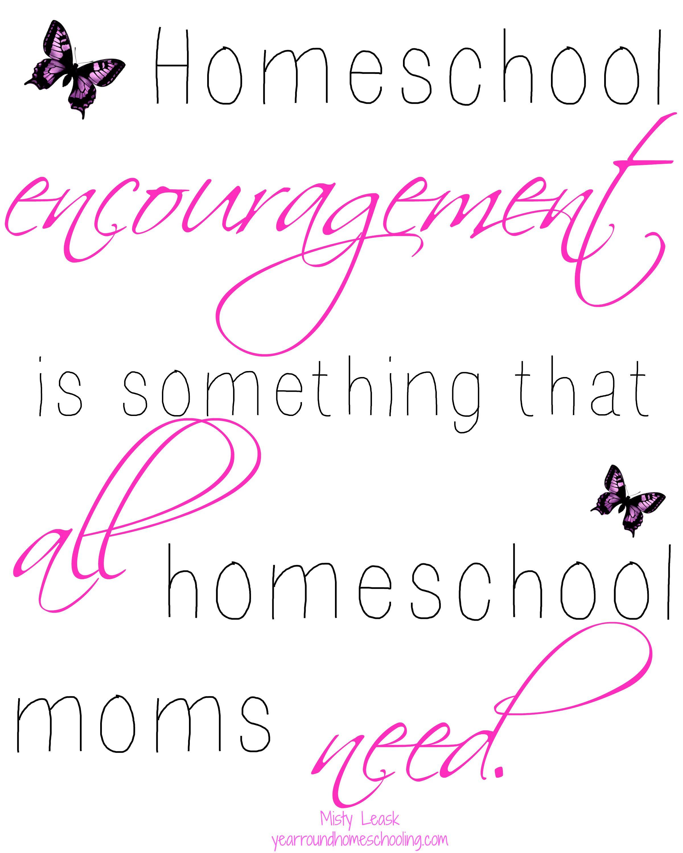 5 Ways To Find Encouragement For Your Homeschool