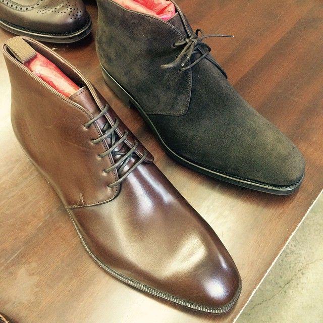 Carmina Shoemaker. Chukka boot three and five eyelets , Rain ...