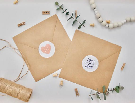 Personalised wedding stickers by lula with love personalised wedding stickers wedding envelope stickers wedding stickers envelope decorations