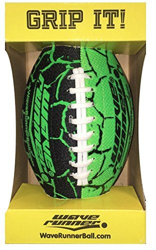 4f5813267224b Wave Runner Grip It Football Green -- Continue to the product at the ...